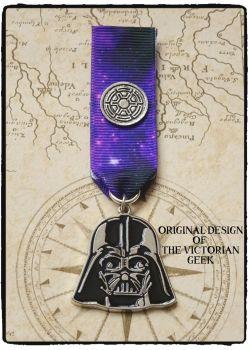 Steampunk, Star Wars, Darth Vader, Imperial Inspired Handmade Medal