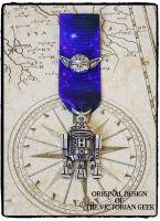 Steampunk, Star Wars, R2-D2, Yoda Inspired Handmade Medal