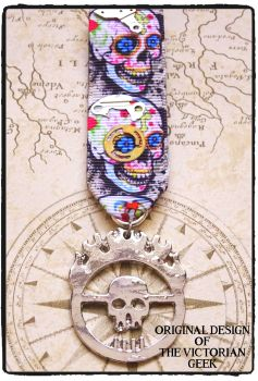 Steampunk, Mad Max, Immortan Joe Inspired Handmade Medal