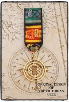 Steampunk, Harry Potter, Gryffindor, Slytherin, Time Turner Inspired Handmade Medal