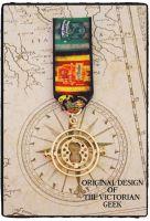 Steampunk, Harry Potter, Gryffindor, Slytherin, Time Turner Inspired Handmade Medal
