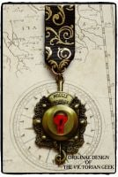 Steampunk, Fantastic Beasts and Where to Find Them, Muggle Worthy Inspired Handmade Medal