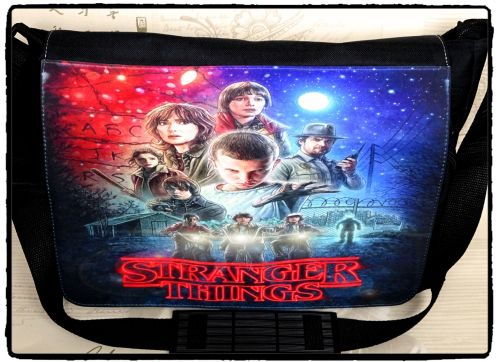 Film & TV, Stranger Things Inspired Messenger Shoulder Bag