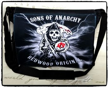 Exclusive: Sons of Anarchy, Grim Reaper Inspired Shoulder Messenger Bag