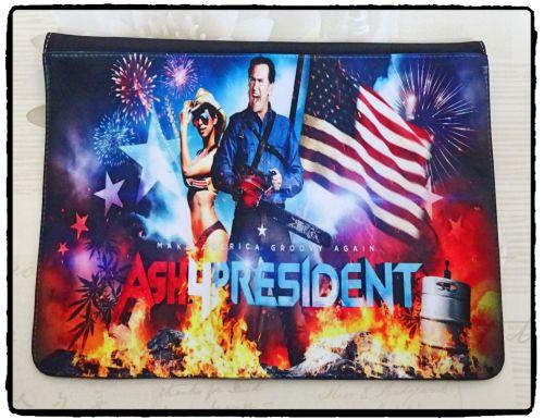 Ash for President, Ash Vs Evil Dead Inspired Exclusive Messenger Bag Flap
