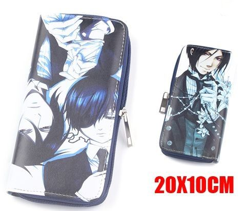 Anime Black Butler/ Kuroshitsuji Long Purse Wallet