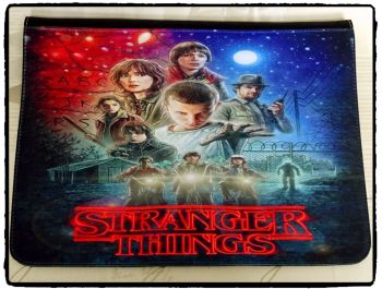 Stranger Things, Eleven Inspired Exclusive Messenger Bag Flap