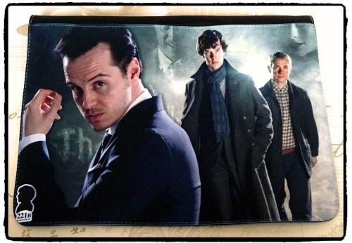Sherlock, Sherlocked, Moriarty, Dr Watson Inspired Exclusive Messenger Bag