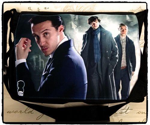 Exclusive: Sherlock, Moriarty, Dr Watson, Sherlocked Inspired Shoulder Mess