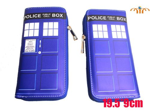 Film & TV Doctor Who, Tardis, Police Box, Inspired Long Purse Wallet