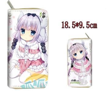 Anime Miss Kobayashi's Dragon Maid Long Purse Wallet
