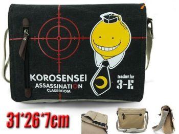 Assassination Classroom, Korosensei, Anime Shoulder Messenger Bag