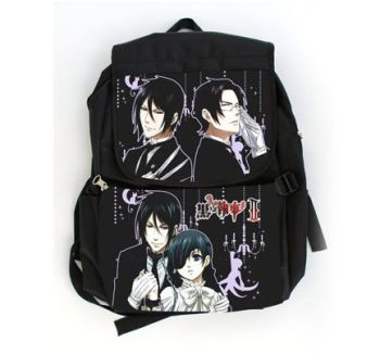 Black Butler, Kuroshitsuji, Ciel & Sebastian Anime Inspired Rucksack Backpack