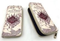Film & TV Harry Potter, Marauders Map Inspired Long Purse Wallet