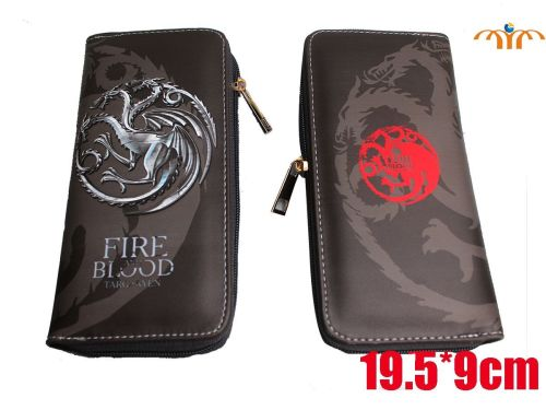Film & TV Game of Thrones, Targaryen Inspired Long Purse Wallet
