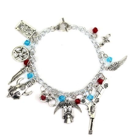 Supernatural, Sam, Dean, Castiel, Winchester Brothers Inspired Style Charm