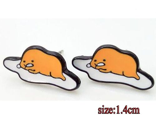 Anime Gudetama Earring Studs