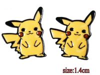 Anime Pikachu Pokemon Earring Studs