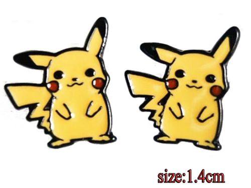Anime Pikachu Pokemon Earring Studs