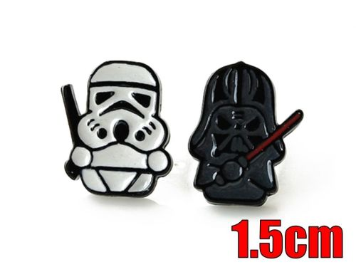 Star Wars, Darth Vader, Stormtrooper Earring Studs