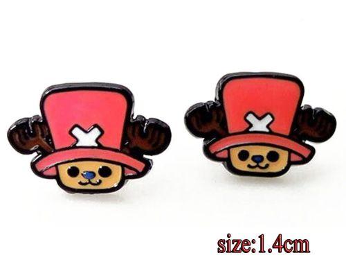 Anime One Piece, Chopper Earring Studs