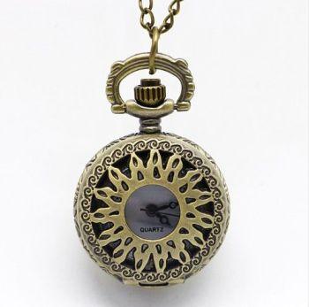 Supernatural, Winchester Brothers, Pentagram Pendant Pocket Watch