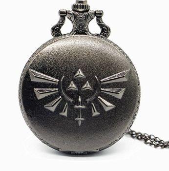The Legend of Zelda Inspired Pendant Pocket Watch
