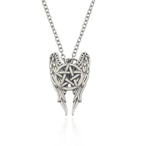 Supernatural, Sam, Dean, Castiel, Winchester Brothers Inspired Necklace Pen