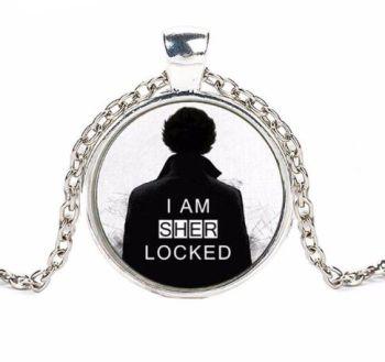 Sherlock Cameo Pendant Necklace