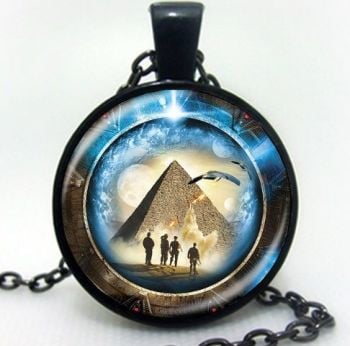 Stargate Atlantis, Cameo Inspired Pendant, Necklace