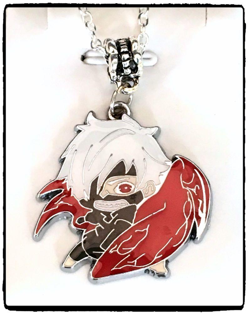 Tokyo Ghoul, Kaneki Ken, Anime Inspired Pendant Necklace