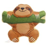 Kawaii Sloth on Branch Plush Cushion