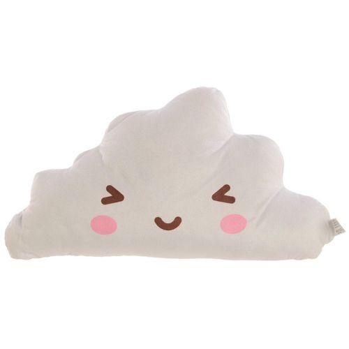 Kawaii Cloud Emoji Anime Plush Cushion