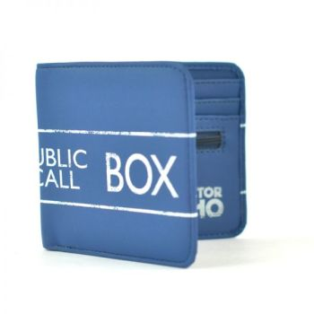Film & TV Doctor Who, Tardis, Police Public Call Box Official License Wallet