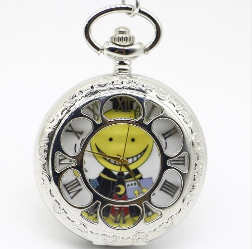 Assassination Classroom, Korosensei Anime Pendant Pocket Watch