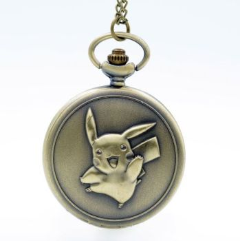 Pikachu, Pokemon Anime Pendant Pocket Watch
