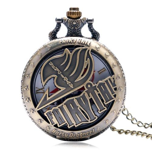 Fairy Tail, Natsu Anime Pendant Pocket Watch