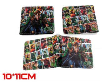 Film & TV Loki inspired Avengers, Marvel, Thor, Wallet