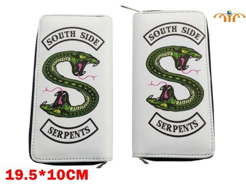Film & TV Riverdale, South Side Serpents Long Purse Wallet: