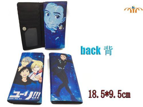 Yuri!! On Ice, Yuri Katsuki, Anime Long Purse Wallet