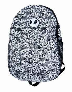 Film & TV The Nightmare Before Christmas, Jack Skellington (Black & White) Rucksack Backpack: