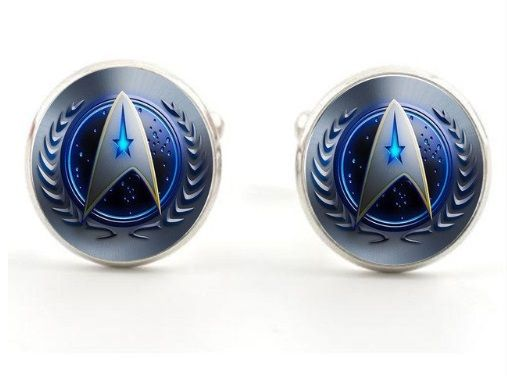 Star Trek Inspired, Starfleet Command Cufflinks