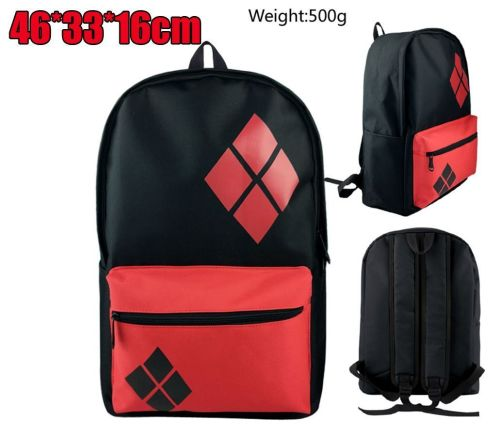 Film & TV DC Harley Quinn, Batman, Joker Inspired Backpack Rucksack