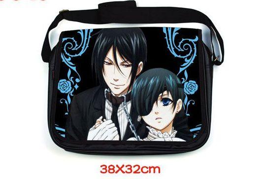 Black Butler Anime, Kuroshitsuji, Ciel & Sebastian, Shoulder Bag, Messenger