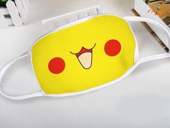 Pikachu Pokemon Anime Mouth Mask