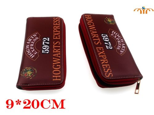Harry Potter, Hogwarts Express Inspired Long Purse Wallet