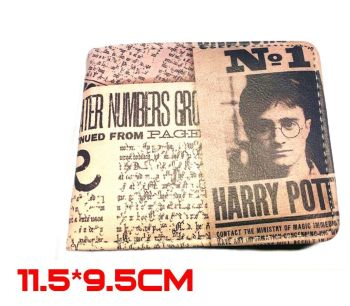 Harry Potter Daily Prophet Inspired Wallet