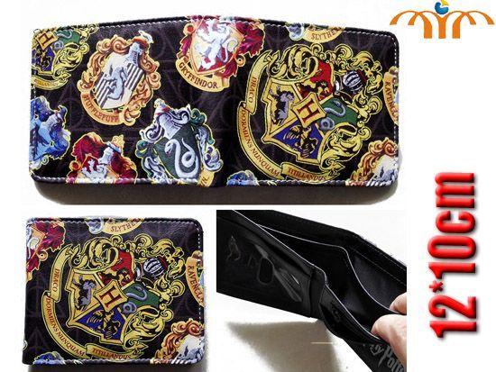 Harry Potter, Hogwarts, House Crests Inspired Wallet