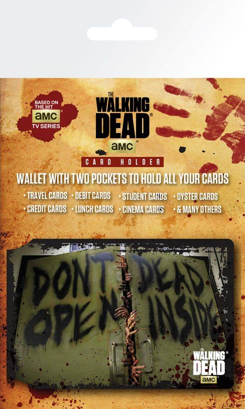 The Walking Dead Dead Inside Card Holder