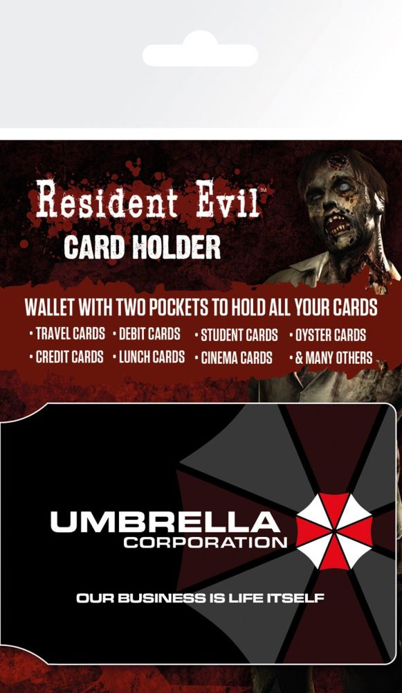 Gaming Resident Evil Card Holder